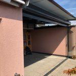 Historia de un techo móvil deslizante de vidrio Acristalia en Suiza CORTINA ABIERTA