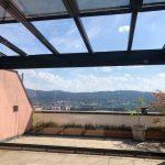 Historia de un techo móvil deslizante de vidrio Acristalia en Suiza DESPUÉS